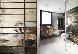 modern bathroom tile design. Delighful Tile View In Gallery Reflective Bathroom Tile Thumb 630xauto 52607 Top 10 Tile  Design Ideas For A Modern Bathroom Inside O