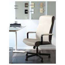 ikea white office chair. IKEA MILLBERGET Swivel Chair You Sit Comfortably Since The Is Adjustable In Height. Ikea White Office D