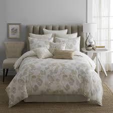 modern living oxidized leaf comforter set  walmartcom