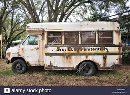 old penitentiary bus busch gardens florida