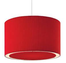 emily red ceiling lamp shade firstlight lighting