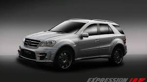 Además de un nuevo motor, hay cambios en la caja de cambios, suspensión. Mercedes Benz Ml 63 Amg Wide Body By Expression Motorsport