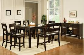 Buy Victoria Counter Height Dining Table In Dark Espresso Finish Espresso Colored Dining Chairs