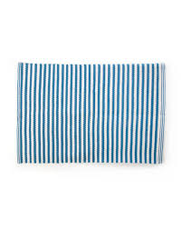oxford blue stripe ter rug quick look mackenzie childs