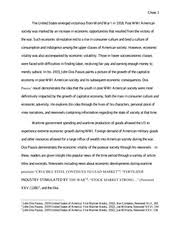 history a the united states from the late th century to 6 pages essay 2