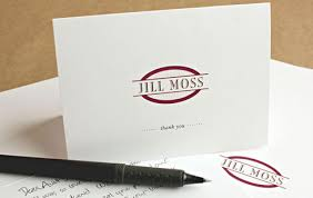 Personalized Business Thank You Cards With Logo Customized Thank You