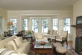 bay window furniture living. Bay Window Ideas With Seat Delightful Living Room Inside Molding White Furniture W