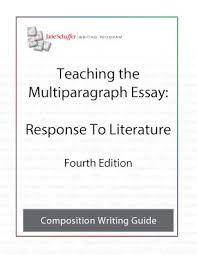 Analytical Response Essay Analytical Response To Literature 4th Ed Formerly Known