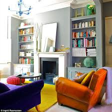 colourful living room designs