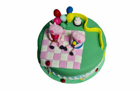 Peppa Pig Birthday Cake Chocolate On Chocolate And Cake