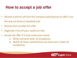 Responding To Job Offer Responding To A Job Application Via Email Cover Letter And