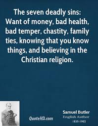 Christian Money Quotes Best Of Samuel Butler Religion Quotes QuoteHD