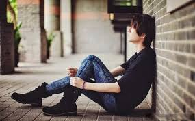 Image result for sad alone boys dp