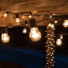 commercial patio string with 24 a15 clear outdoor patio lights commercial outdoor patio light strings