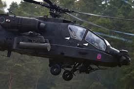 Apache Attack Helicopter Ah 64de Usaasc