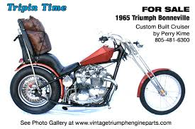 vintage triumph motorcycles and engine parts