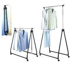 collapsible clothing rack folding clothes bedroom great best portable ideas on with regard5