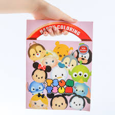 10 Pcslot Tsum Tsum Minnie Mickey Winnie Dumbo Coloring Book