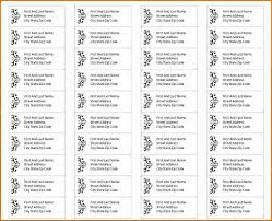 3 Avery Address Label Template Divorce Document