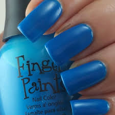 Inkblot Blue Finger Paints