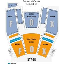 Fox Theater Seating Chart Connecticut Legends In Concert Mashantucket Tickets Legends In Concert