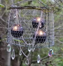 outdoor lighting ideas diy. Make Your Own Rustic Outdoor Chandelier | Click Pic For 24 DIY Garden Lighting Ideas Diy