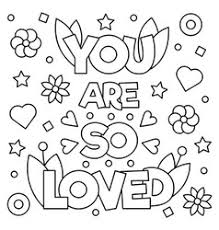 Quotes Coloring Pages Vector Images Over 250