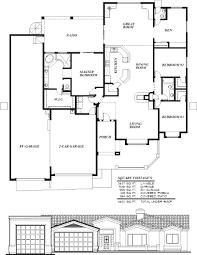 Sunset Homes Of Arizona Home Floor Plans Custom Builder Rv California  Garage With Living Q ...