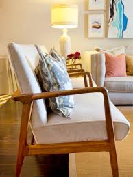 Wooden Furniture Living Room Designs Add Midcentury Modern Style To Your Home Hgtv