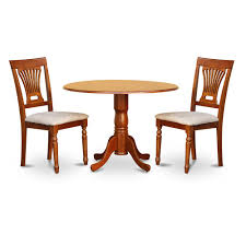 Small Kitchen Table 2 Chairs Drop Leaf Dining Table Set Creations Ii Oval Drop Leaf Dining