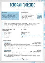 Web Designer Resume Stunning What Is An Ideal Web Design Resume 40
