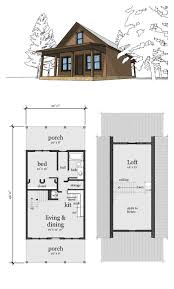 Small 2 Bedroom Cottage Plans Narrow Lot Home Plan 67535 Total Living Area 860 Sq Ft 2