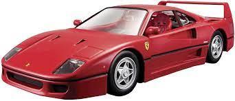 Bburago Ferrari F40 1 24 Model Car Conrad Com