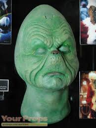 how the grinch stole original make up prosthetics
