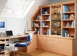 office unit. Home Office Unit. Prima Study In Beech With Fitted Shelving Unit U