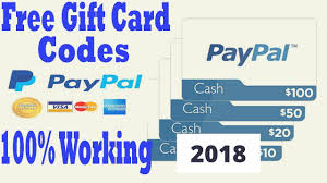 paypal gift card codes free paypal paypal gift card free 2018