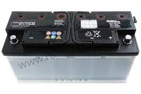 P165667 99961111020 Battery Battery Supplied Empty To Be Filled With Acid 110 Ampere Hour Option 520 A 110 Ah Battery Option Code Ij0z Option 480 A