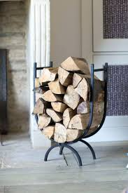 Fireplace Wood Storage Indoor Rack With Tools Holder. Firewood Holder And  Tool Set Fireplace Log Wood Australia. Fireplace Wood Holders Canada  Country ...
