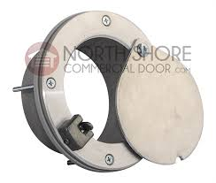 4 exhaust port with latch model epl 4x2 for insulated doors
