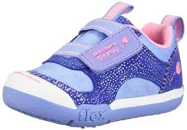 Light Blue Skechers Amazon Com Skechers Flex Play 82160n Girls Infant Toddler