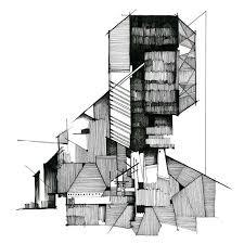 simple architectural sketches. Brilliant Architectural Building Architectural Drawing For Simple Sketches