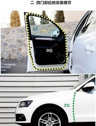10m z type adhesive car rubber seal sound insulation 3m car door sealing strip weatherstrip edge