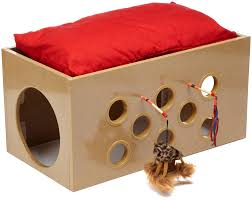 Cat House Amazoncom Smartcat Bootsies Bunk Bed And Playroom For Cats