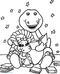 Coloring Sheets Barney Best Friends Barney Coloring Pages Dobby