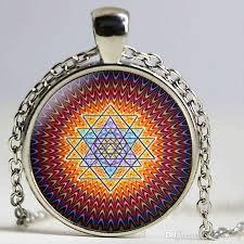 whole drop fashion buddhist sri yantra pendant necklace sacred geometry sri yantra jewelry jewelry whole anchor pendant necklace gold