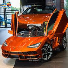 Ô tô điện cho bé bản quyền Lamborghini 6726.R – thegioixetreem.com