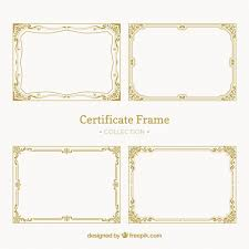 Certificate Borders Free Download Fascinating Certificate Border Vectors Photos And PSD Files Free Download