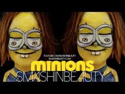minions makeup face paint tutorial 2018 smashinbeauty