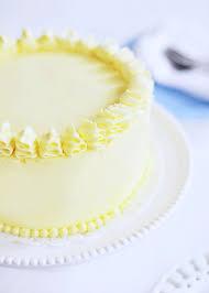Triple Lemon Blueberry Cake Via Sweetapolita Lemon Cake Decorating