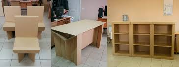 cardboard office furniture. In March 2014, The New Model Of Chairs And Stands For Offices Was Created. Cardboard Office Furniture R